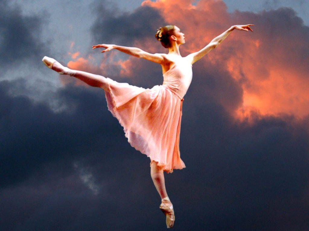 Картинка с балериной