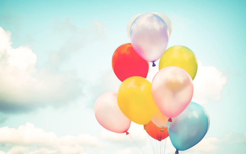 воздушные шары картинки для визиток распространенные формы