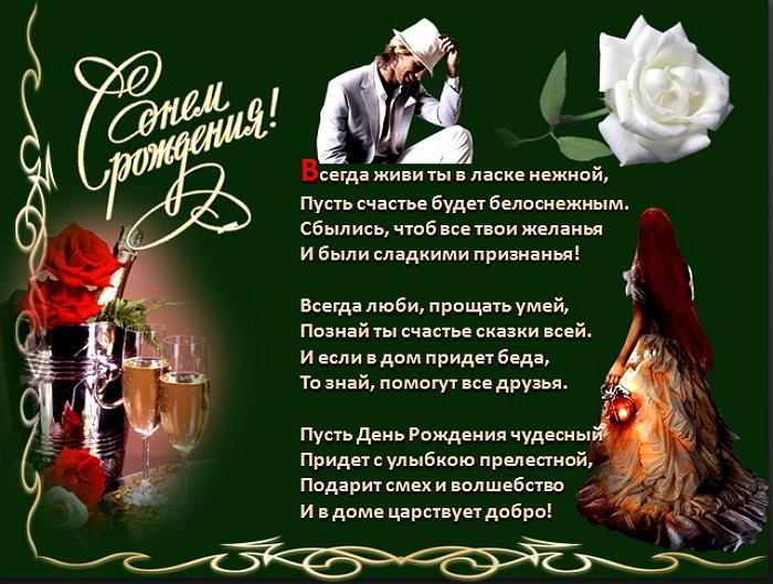 Красивые поздравления с днем рождения мужчине владимиру
