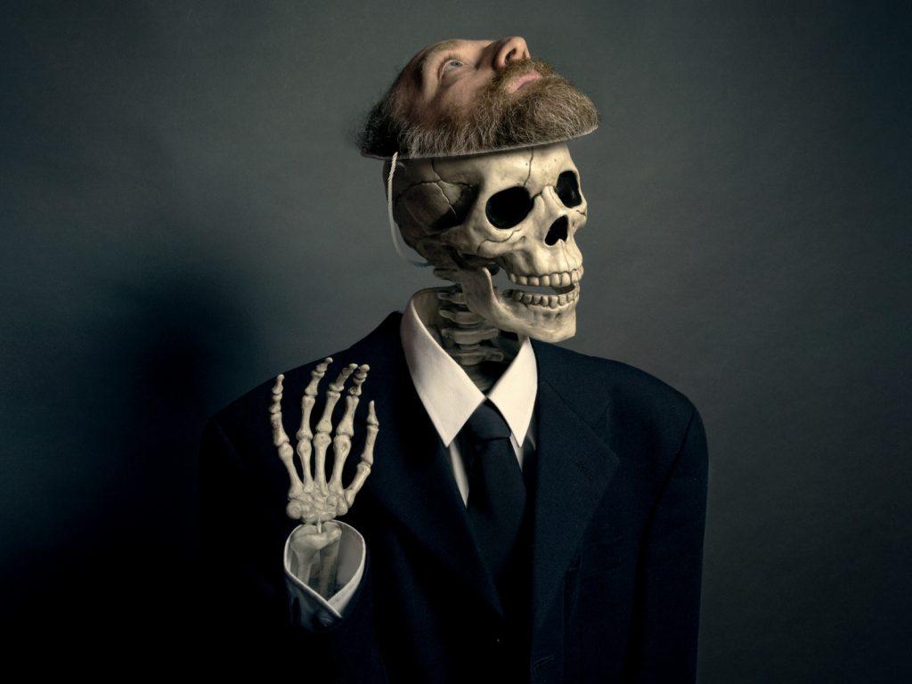 Прикольные картинки на аву скелеты