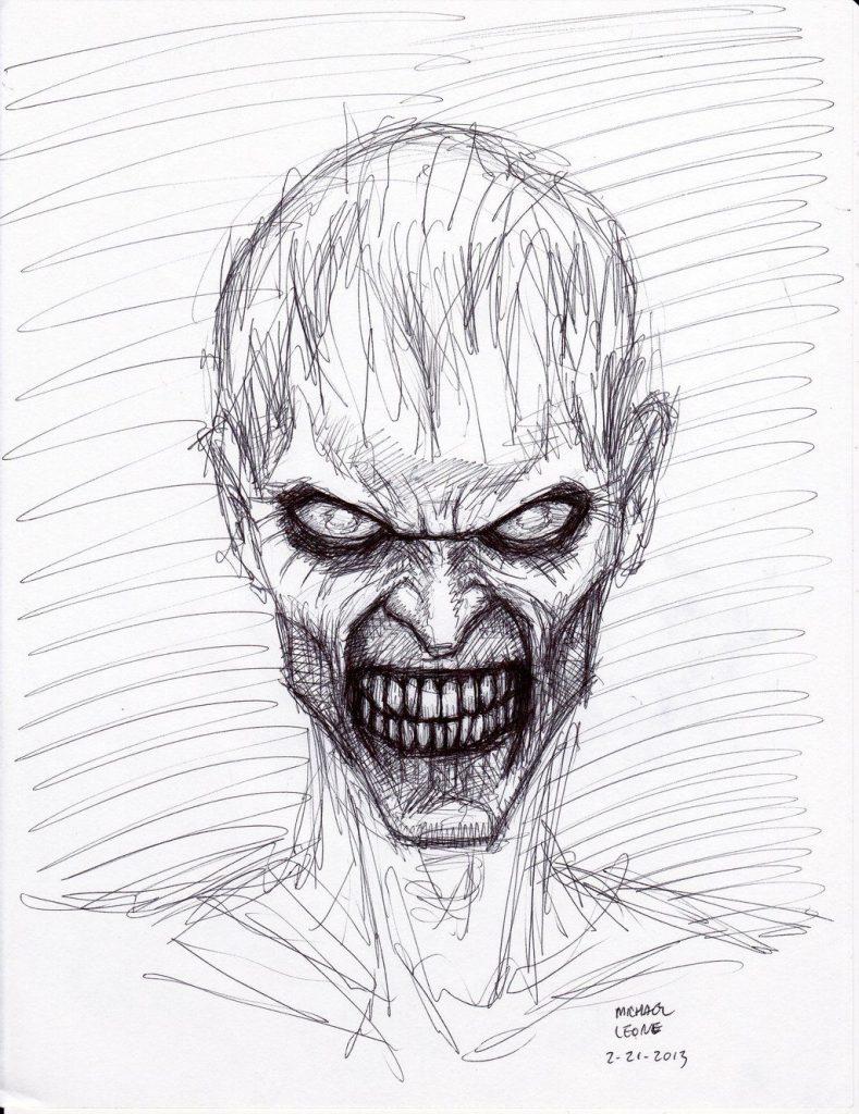 Самые страшные картинки которые можно нарисовать