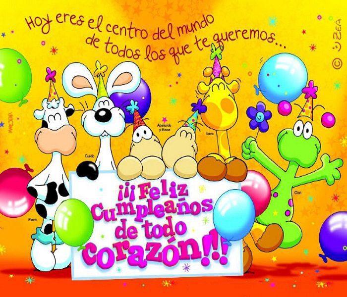 С днем рождения испанский картинки