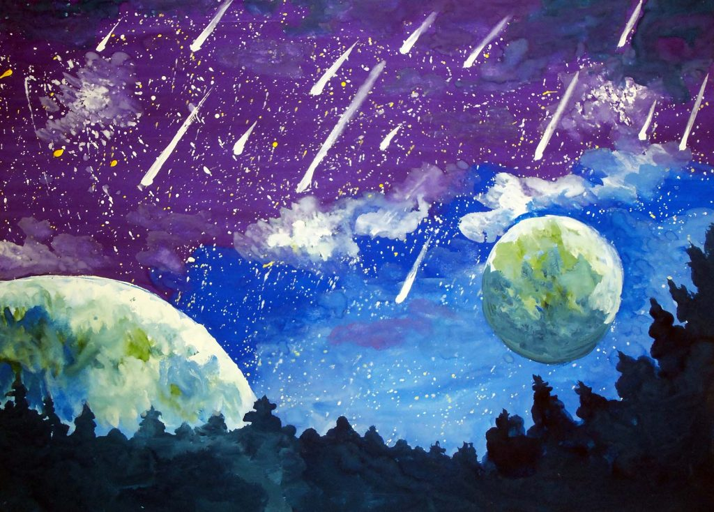 тема космоса в картинах художников взгляд пусть