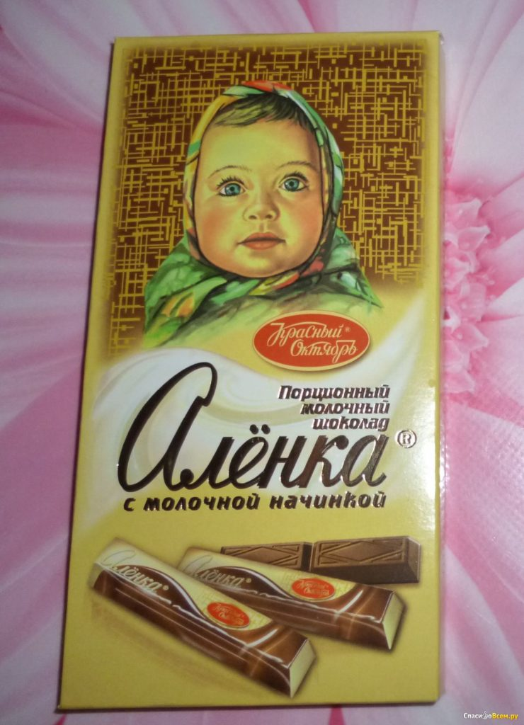 Фотографии шоколадки аленка