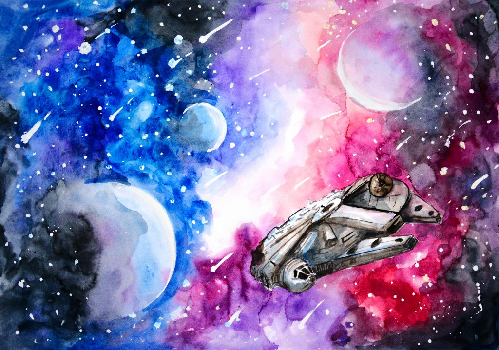 Самые креативные рисунки на тему космос, ватсап загрузить