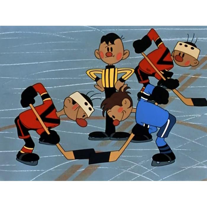 Мультфильмы про хоккей картинки