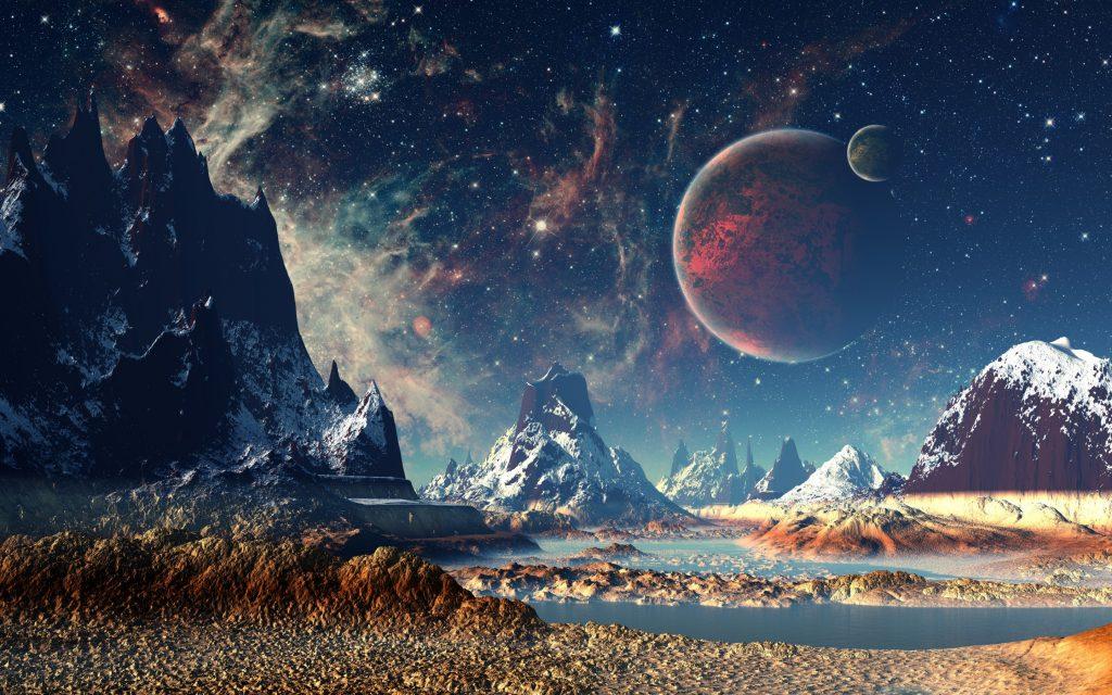 пересекались картинки космического пейзажа это может