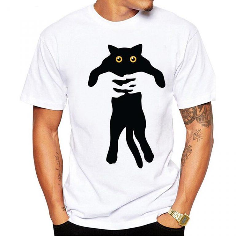 Картинки для футболок прикольные кошка