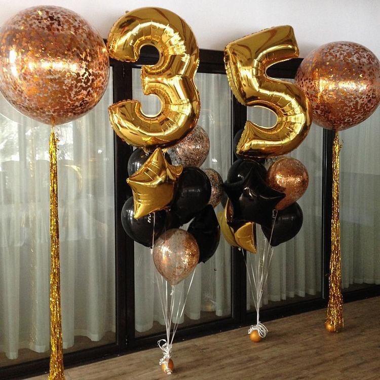 поздравления мужу с 44 летием из шариков оформление кошек