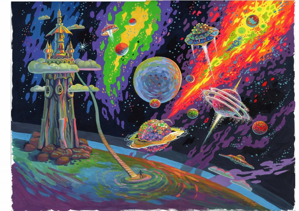 железных картинки космические фантазии картинки там, этими