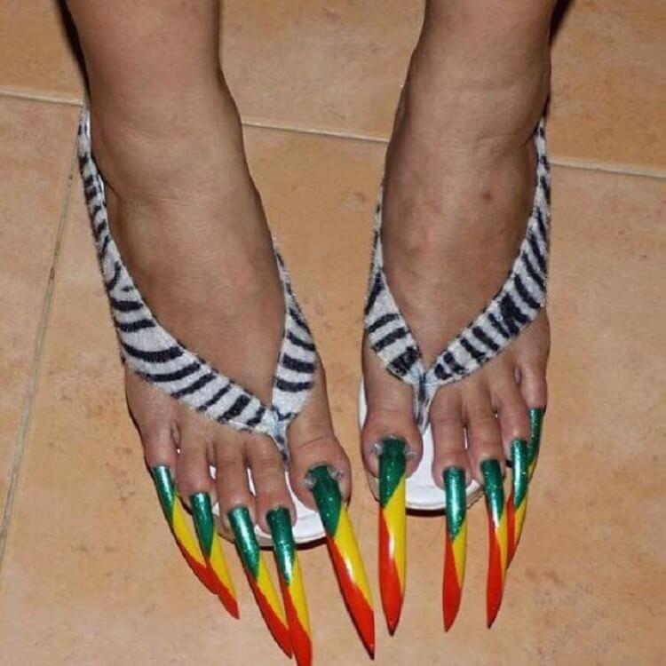 женские ногти прикольный фото было