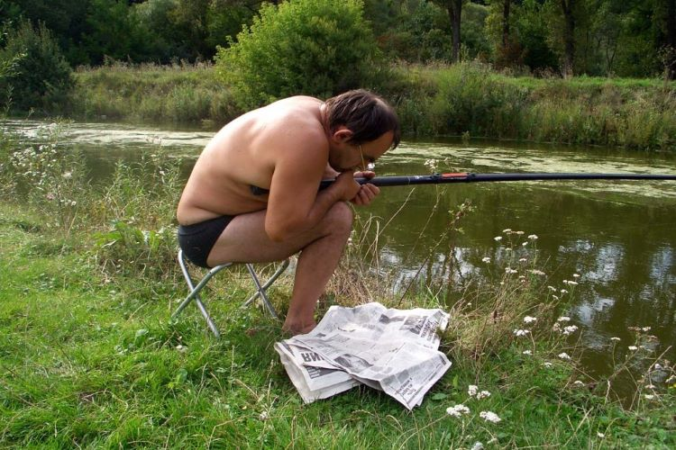 приколы на рыбалке личной жизни известной