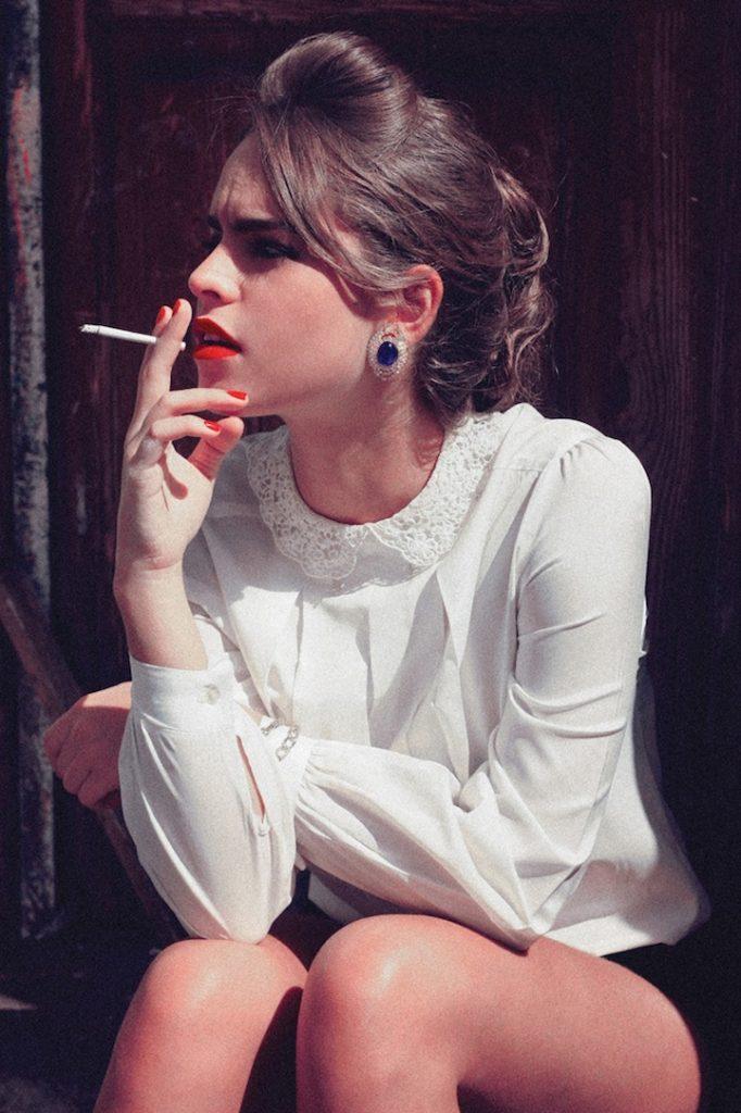 Картинки для девушек которые курят