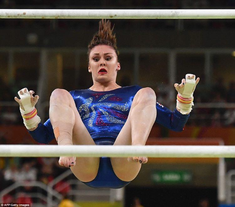 неудачные фотографии спортсменок всех популярных почтовых