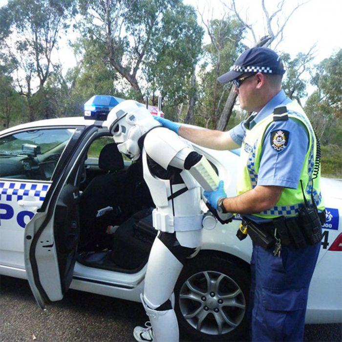 Смешная картинка про полицейских