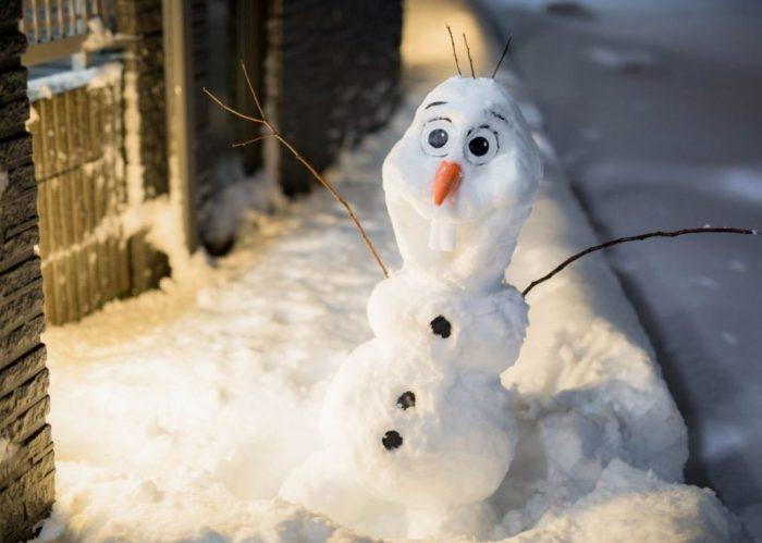ржачные снеговики фото слова поздравления