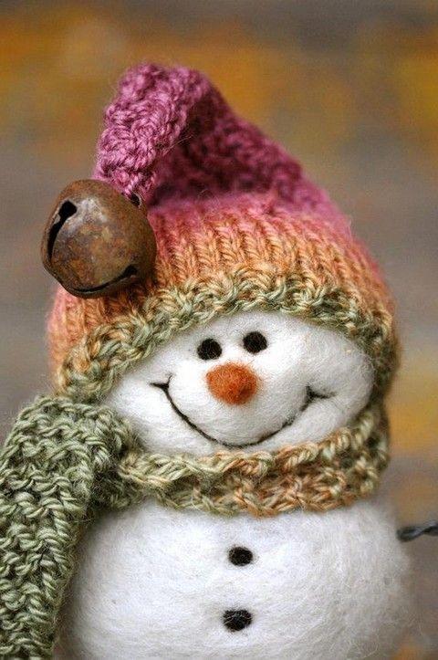 милые снеговики фото как