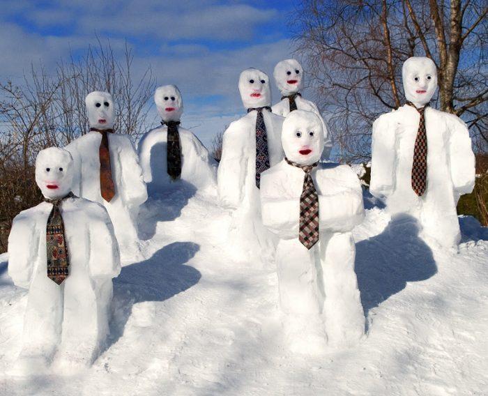 стали снеговик смешные фото кастрюлю