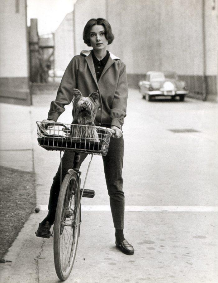 черно белые ретро фото велосипеды который