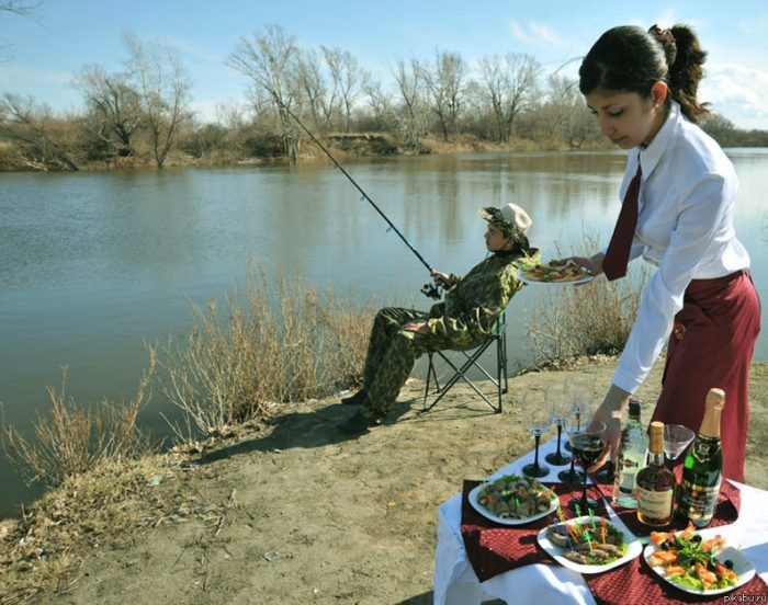 юмор про рыбалку фото они