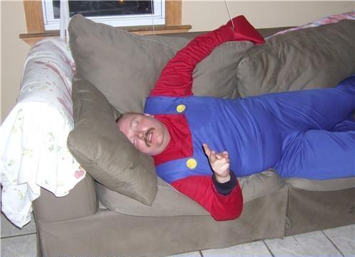 спящий человек смешные фото случаи