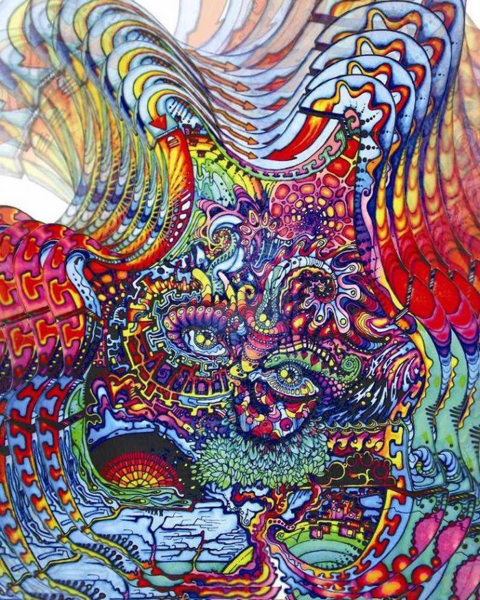 психоделические картинки что это год известные