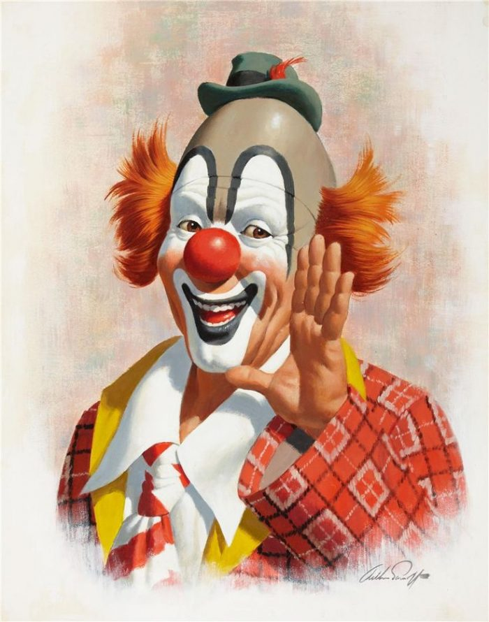 Прикольные клоуны в картинках