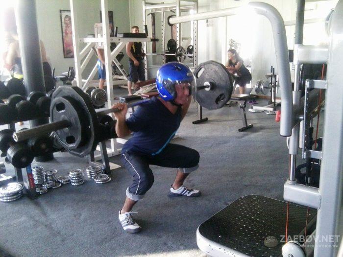 Приколы про спортзалы и фитнес клубы фото