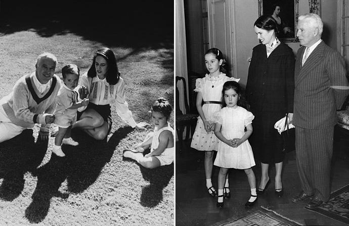 видеопроката чарли чаплин фото с женой и детьми при выборе
