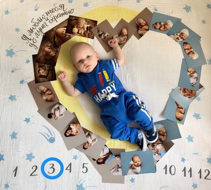 2 месяца малышу поздравления папе