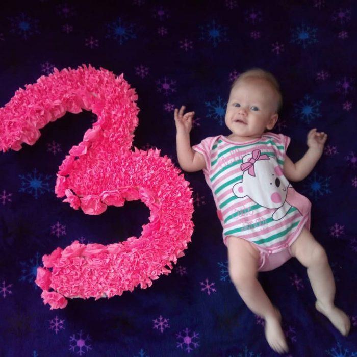 3 месяца фото поздравление