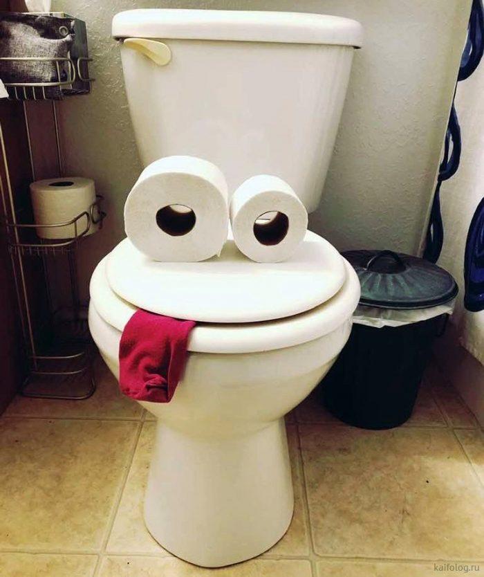 Туалет смешные картинки